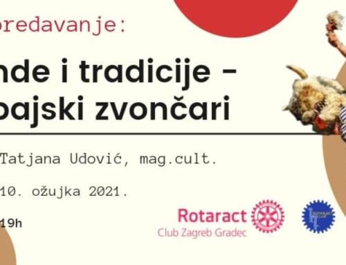 """Predavanje """"Legende i tradicije – Halubajski zvončari"""" u suradnji s Rotaract klubom Zagreb Gradec"""