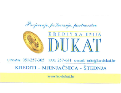 Kreditna unija Dukat