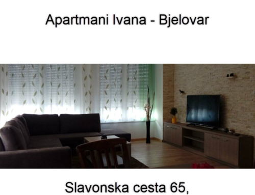 Apartmani Ivana – Bjelovar