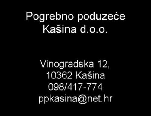 Pogrebno poduzeće Kašina d.o.o.